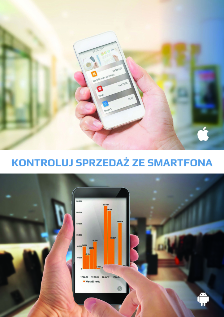 Zarządzanie sprzedażą zesmartfona